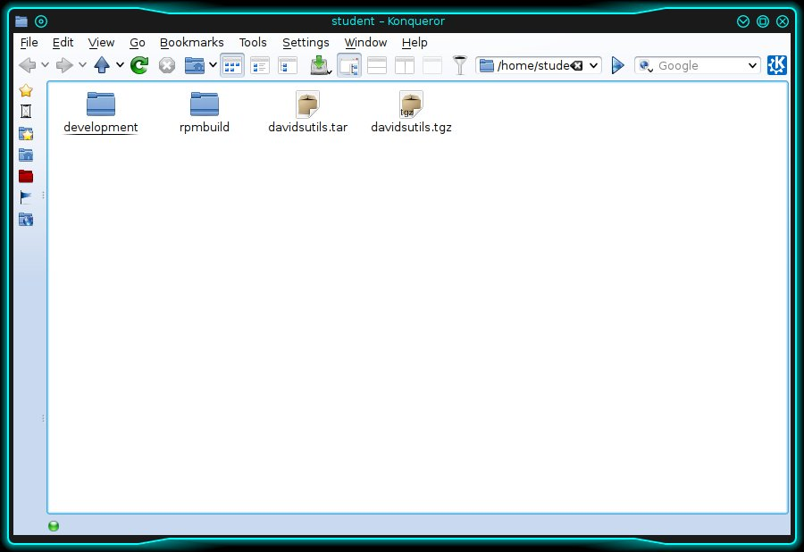 """The default Konqueror window when opened the first time in """"File management"""" mode."""