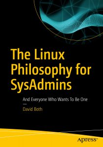 "Front cover of the book ""The Linux Philosophy for SysAdmins"""
